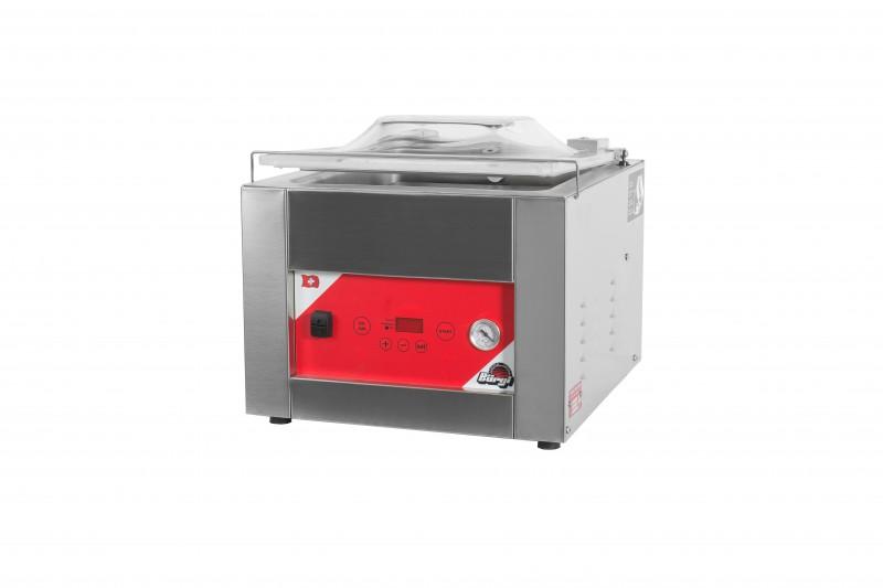 Vacuummaschine: Modell Square 500 B mit gewölbtem Deckel