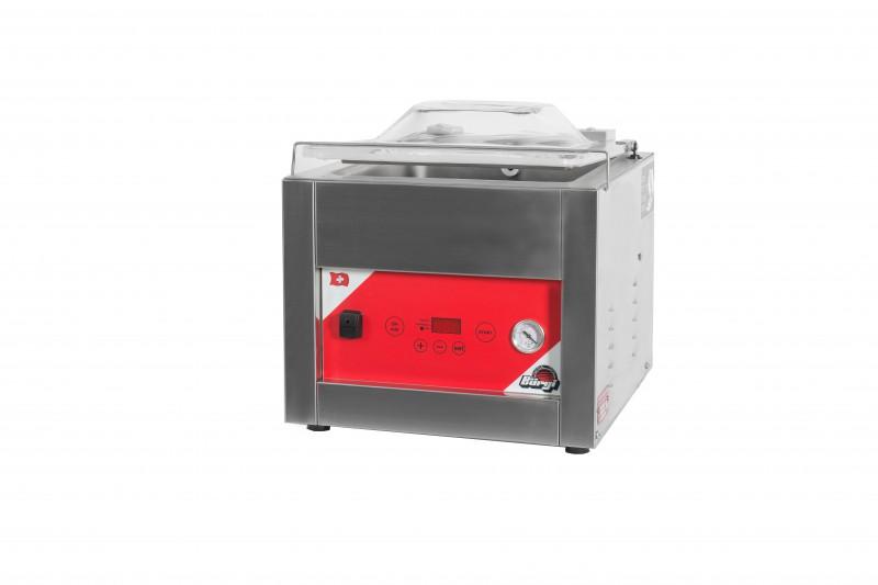 Vacuummaschine: Modell Square 350 B mit gewölbtem Deckel