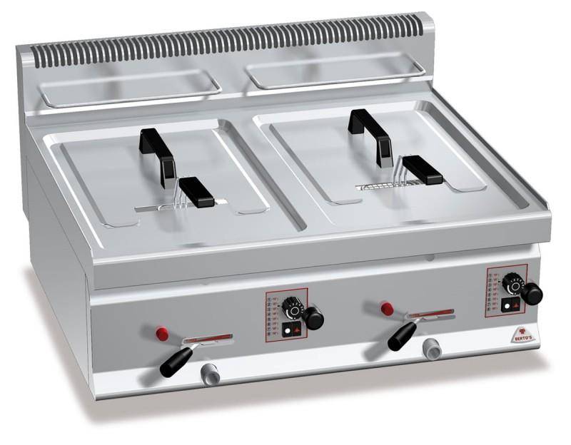 Tischfritteuse Gas: Modell GL10+10B