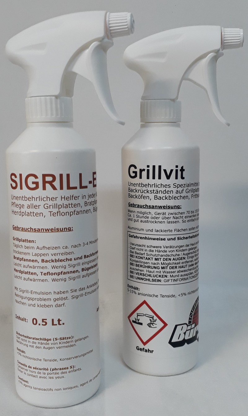 Grillvit mit Spraykopf