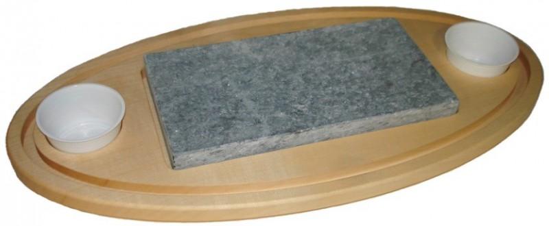 Holzbrett oval